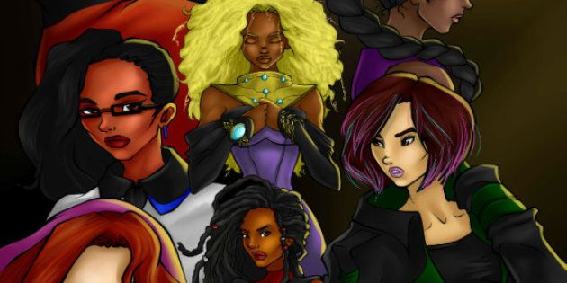 Super-heroínas multiculturais feitas por mulheres, para