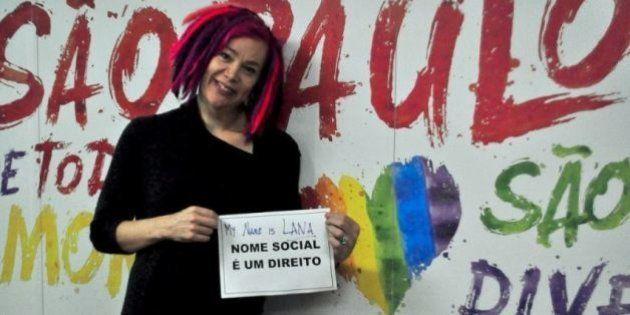 Lana Wachowski visita Centro de Cidadania LGBT em São