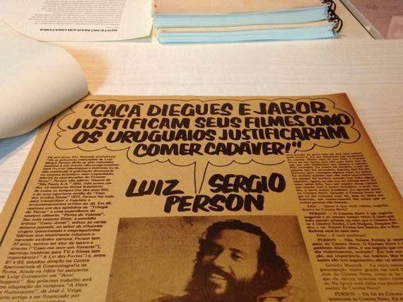 Vida e obra do diretor Luiz Sergio Person é tema de exposição em São