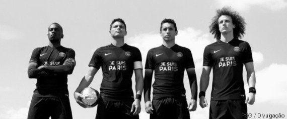 PSG troca patrocinador por homenagem às vítimas de atentado em