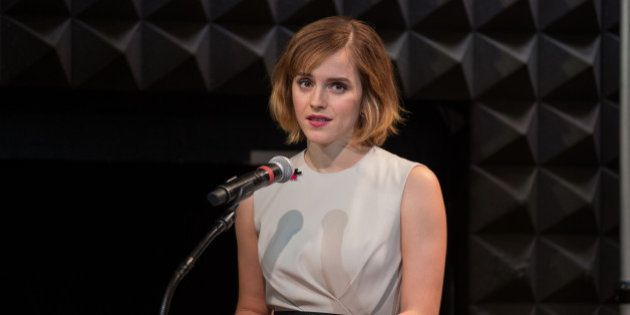 NEW YORK CITY, NY, UNITED STATES - 2016/03/08: Emma Watson at the UN women launch of HeForShe arts week...