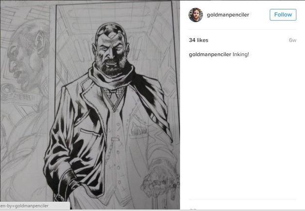 Brasileiro ilustrador da DC Comics faz comentários sobre estupro e é