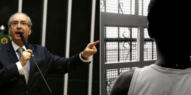 Eduardo Cunha quer mais tempo de internação para jovens infratores entre 12 e 16