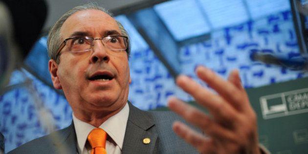 Eduardo Cunha, presidente da Câmara dos Deputados fala sobre a pauta de votação da Casa (Fabio Rodrigues...