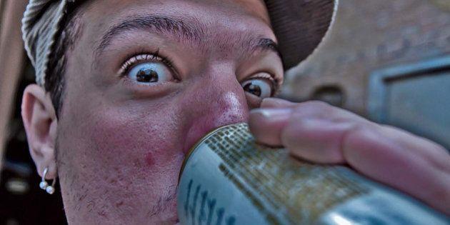 saboreando uma boa cerveja