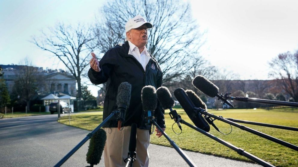 As Trump heads to Texas border, he says he 'probably' will declare national emergency if no deal on wall (ABC News)
