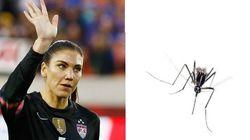 Fora da Olimpíada? Estrela do futebol dos EUA diz que zika é