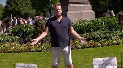 Homem HIV positivo pede para ser tocado em vídeo