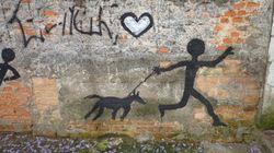 Grafite é a arte urbana que embeleza o cenário