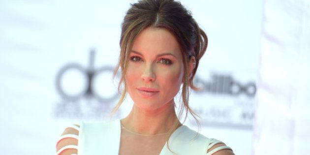 Kate Beckinsale arrives at the Billboard Music Awards at the T-Mobile Arena on Sunday, May 22, 2016,...