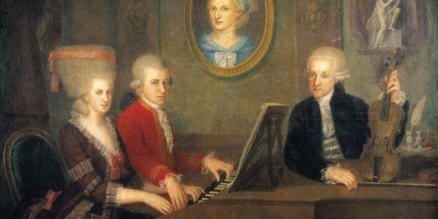 Mozart tinha uma irmã tão talentosa quanto