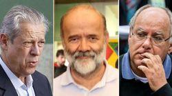 Lava Jato: José Dirceu, ex-tesoureiro do PT e ex-diretor da Petrobras são