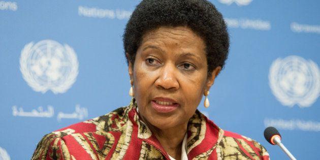 Phumzile Mlambo-Ngcuka, diretora executiva da ONU