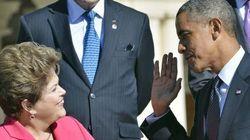 Dilma e Obama se encontram em situação