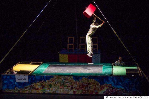 Como um espetáculo de circo ajuda a tornar a realidade em Jerusalém mais