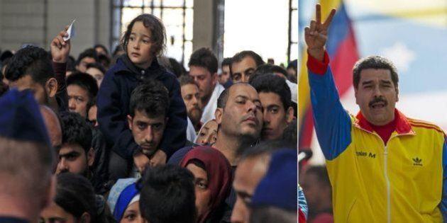 Presidente Nicolás Maduro anuncia que Venezuela quer acolher 20 mil