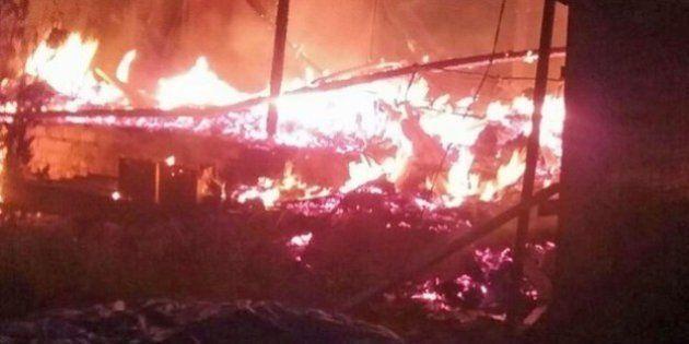 Em possível crime de intolerância religiosa, mais um terreiro de candomblé é incendiado no Distrito