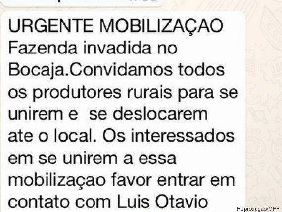 MPF instaura inquérito para apurar ataques contra índios no Mato Grosso do Sul; Filho de Bolsonaro defende...