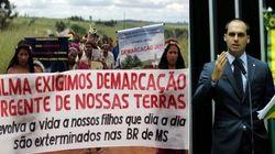 ASSISTA: Filho de Bolsonaro defende fazendeiros, acusados de ataques contra índios no