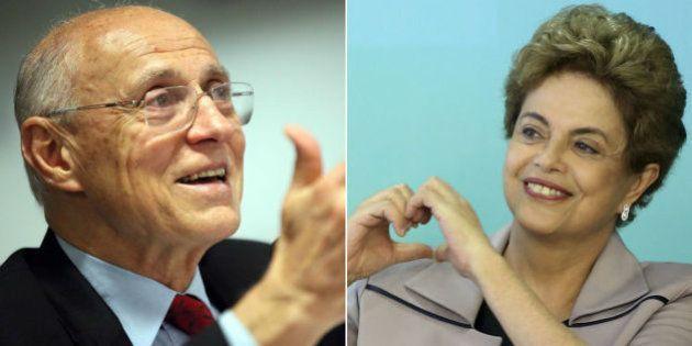 Após 35 tentativas, Dilma finalmente recebe Eduardo Suplicy para falar de renda