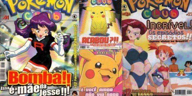 12 provas de que 'Pokémon Club' foi a revista mais polêmica dos anos