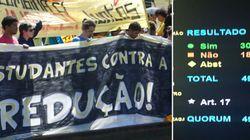 Derrota de Cunha: Câmara rejeita reduzir maioridade penal para crimes