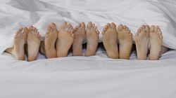 Existe relação entre o tamanho dos pés e do