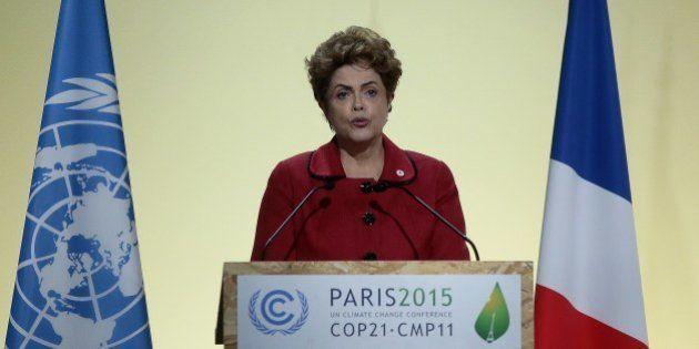 Na COP21, Dilma promete 'punição severa' aos responsáveis por tragédia em