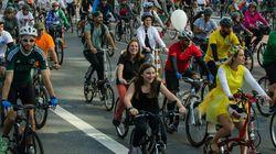 Fechamento da Paulista na inauguração de ciclovia não atrapalhou o