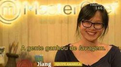 Nós estamos torcendo pela Jiang no MasterChef