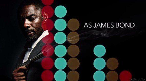 James Bond negro? Temos! Site cria abertura com Idris Elba na pele de 007