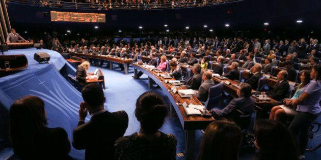 Senado conclui votação de projeto que acaba com doações eleitorais de