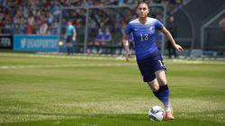 Um dos times mais usados em Fifa 16 é a seleção feminina dos