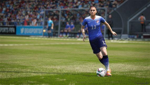 Um dos times mais usados no game Fifa 16 é a seleção feminina dos