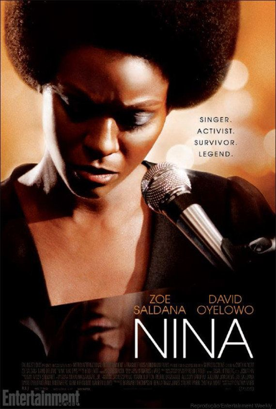 Zoe Saldana é Nina Simone no primeiro pôster da cinebiografia sobre a