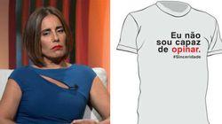 Após faturar R$ 10 mil no Oscar, Glória Pires vende camisetas com suas