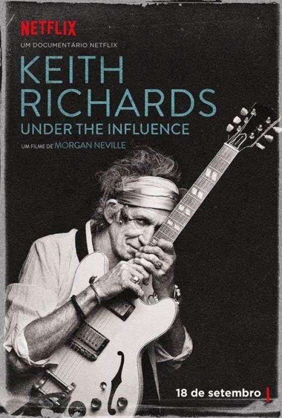 Keith Richards ganha documentário na Netflix; estreia é dia 18