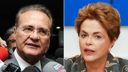 Renan critica redução do prazo da defesa de Dilma e se diz