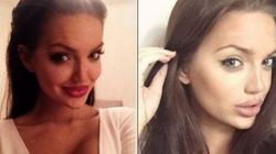 FOTOS: Ela é igualzinha à Angelina Jolie e a internet está pirando com