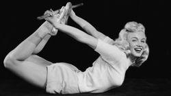Este é apenas um lembrete de que Marilyn Monroe era uma yogi