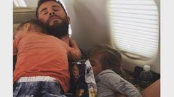 Este é o jeito MAIS FOFO de dormir junto com seus filhos, segundo Chris