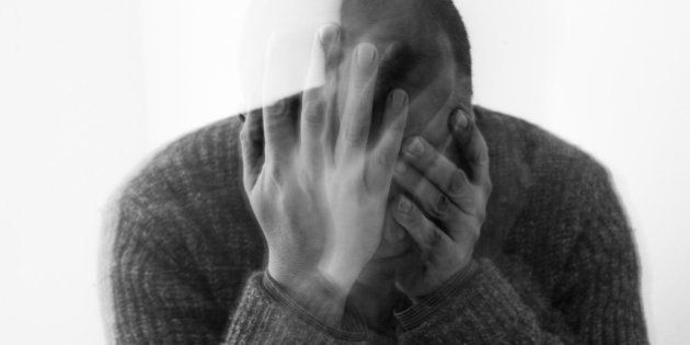 Middle aged man depressed/suicidal/loosing his mind/upset.