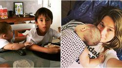 Excesso de fofura: você não vai resistir aos filhos da Fernanda Gentil