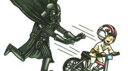 Em 'Darth Vader e Filho', cartunista imagina vilão de 'Star Wars' como pai
