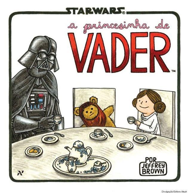 Em 'Darth Vader e Filho', cartunista imagina o dia a dia da família Skywalker