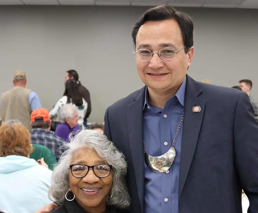Cherokee Nation Secretary of State Chuck Hoskin said his tribe can weather the effects of the U.S. government shutdown for no
