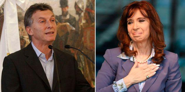 Maurício Macri diz que Cristina Kirchner 'não quer colaborar' na transição de poder na