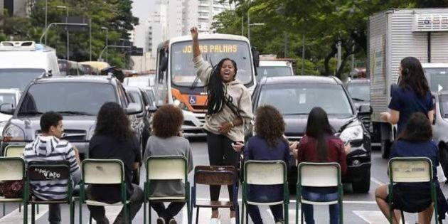 A força dos estudantes das escolas ocupadas em São Paulo em imagens