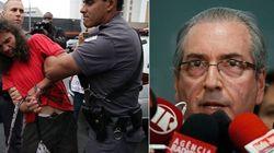 Em São Paulo, porrada em estudante. Em Brasília, chantagem e