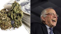 Lojas de maconha nos EUA fazem doações para Bernie